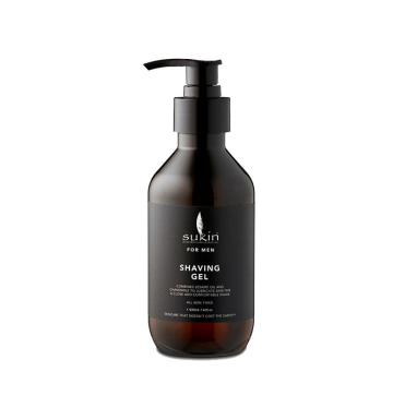 SUKIN For Men Shaving Gel (225ml) image