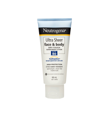 NEUTROGENA Ultra Sheer® Face & Body Lotion SPF 50 (88ml) image