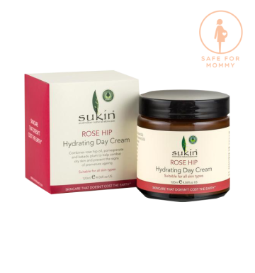 SUKIN Rosehip Oil Hydrating Day Cream (120ml) image