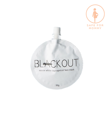 BLACKOUT MASK White Clay & Apricot Mask (50ml) image