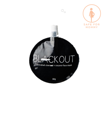 BLACKOUT MASK Activated Charcoal mask (50ml) image