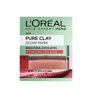 L'OREAL Exfoliate & Smooth Clay Mask (50ml) image