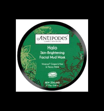 ANTIPODES Halo Skin Brightening Facial Mud Mask (75g) image