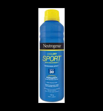 NEUTROGENA Cool Dry Sport Sunscreen Spray Broad Spectrum SPF30 (155g) image