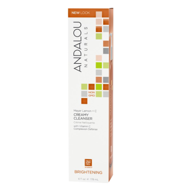 ANDALOU NATURALS Brightening Meyer Lemon Creamy Cleanser (178ml) image