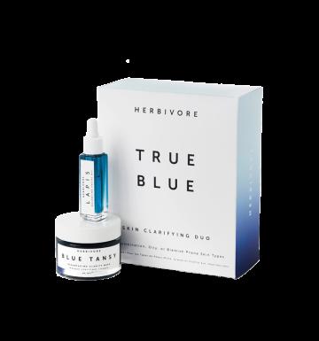 HERBIVORE True Blue Skin Clarifying Duo image