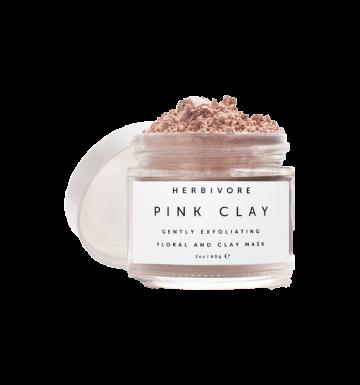 HERBIVORE Pink Clay Exfoliating Mask (60g) image