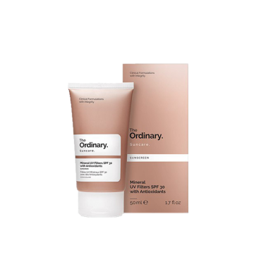 THE ORDINARY Mineral UV Filters SPF 30 with Antioxidants (50ml) image