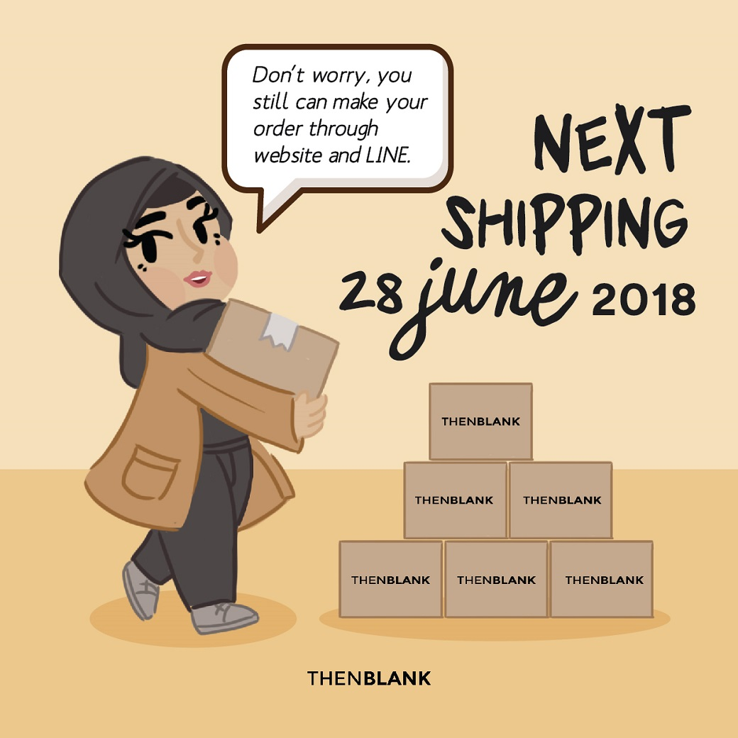 SHIPPING INFO: JUNE, 28 2018 image