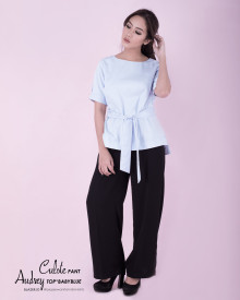 AUDREY TOP SOFT BLUE