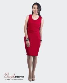 ELEGANT DRESS RED