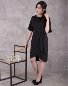 TULIP DRESS BLACK