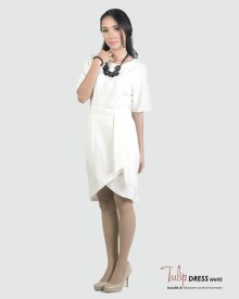 TULIP DRESS WHITE