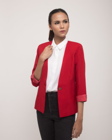 ARMCANDY RED POLKADOT BLAZER