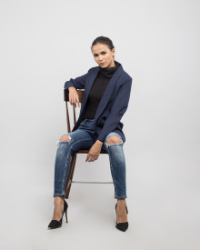 KLAIR NAVY BLAZER
