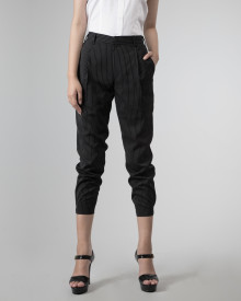 ZOE PANTS STRIPE BLACK
