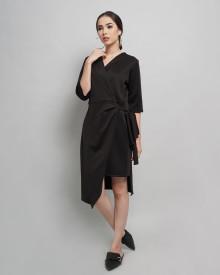 LILA DRESS BLACK