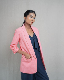 LUXE CANDY PINK BLAZER