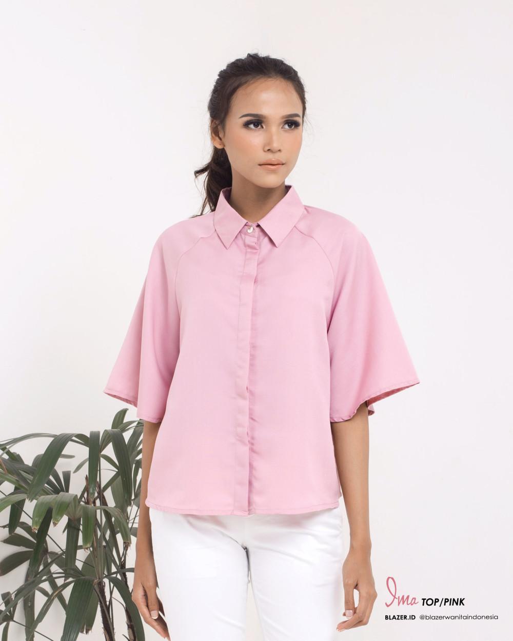 Ima Top Blush Pink Blouse Baju Kantor Wanita Prevnext