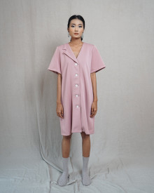 ORLI DRESS DUSTY PINK