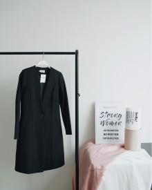 LYRA LONG COAT BLACK