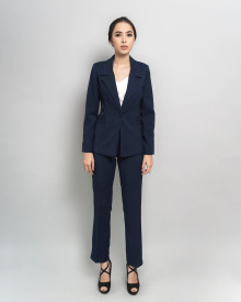 BASIC NAVY BLAZER SET