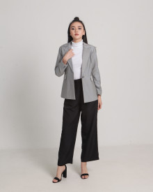 FOLE GREY DOTS BLAZER