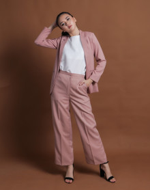 VEE DUSTY PINK BLAZER