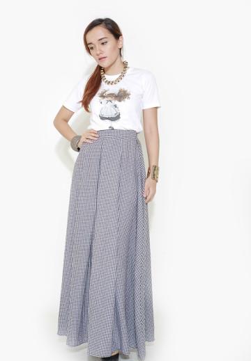Eveline Long Line Skirt image