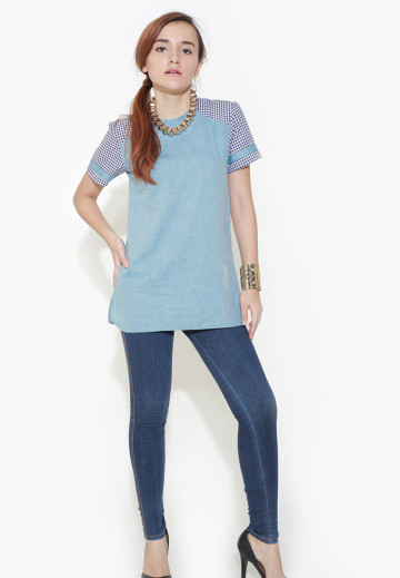Sporty Blue Shirt image