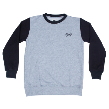 Bogi Orca Sweater Pria - Abu Hitam