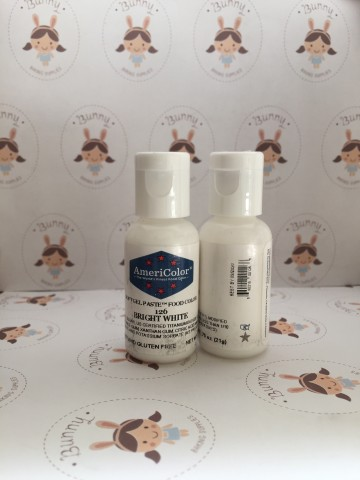 Americolor Soft Gel Paste  Bright White 21gr
