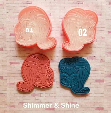 [PO] Stamp Cutters Shimmer & Shine