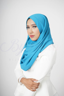 Electric Blue Hijab