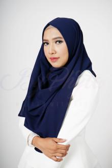 Oxford Blue Aster Hijab