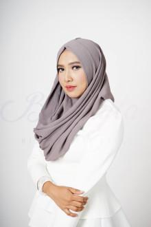 Steel Grey Aster Hijab