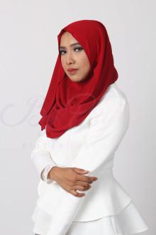 Garnet Red Hijab