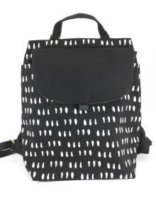 3-way Backpack Coma Black