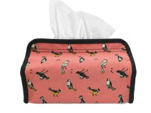 Tissue Cover Birds of Indonesia Pink