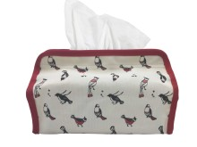 Tissue Cover Birds of Indonesia Red