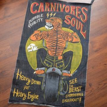 Carnivores Soul Denim Banner Originals image