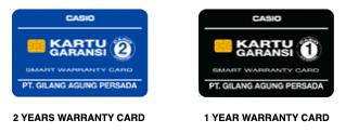 Smart Warranty Cards