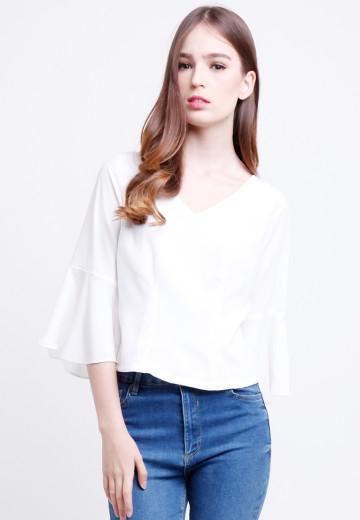 Heidi Top in White image
