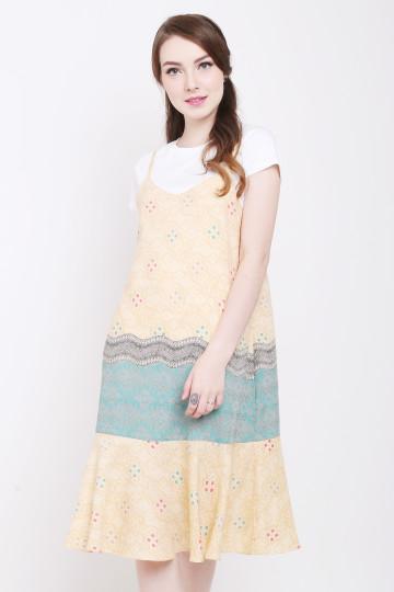Tressa Dress in Yellow image