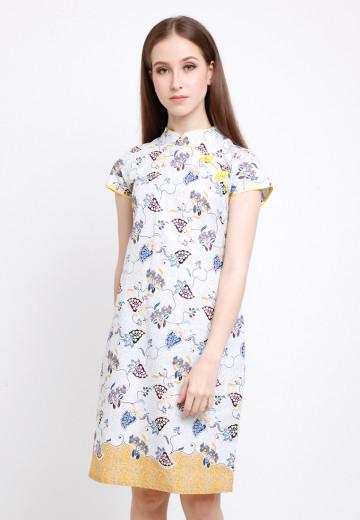 Asoka Dress in Yellow image
