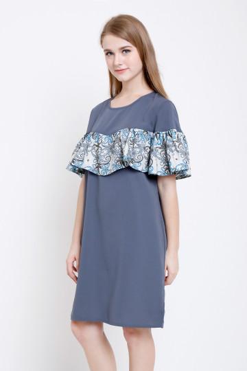 Faraya Dress in Grey image