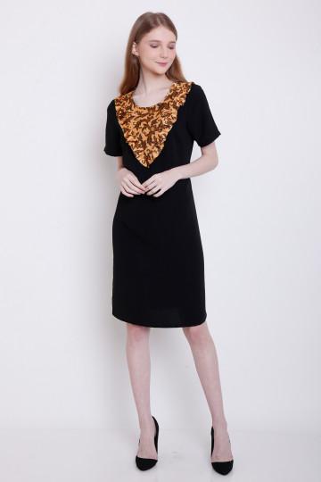 Agni Dress in Black image