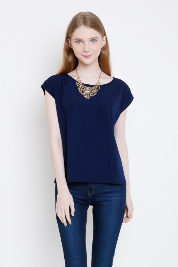 Anna Top in Navy image