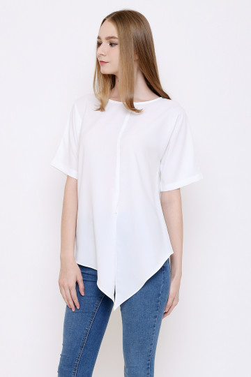 Nadine Top in White image