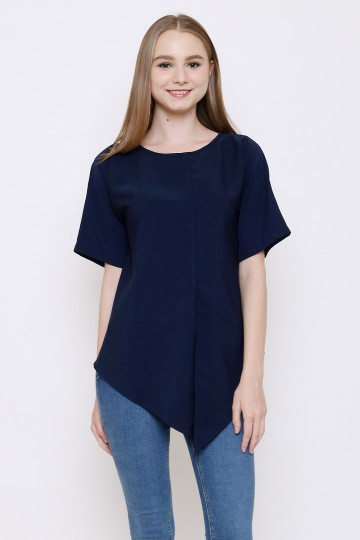 Nadine Top in Navy image